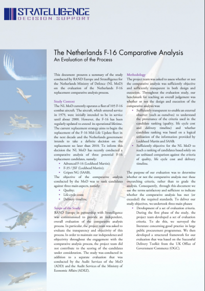 f16 comparative analysis