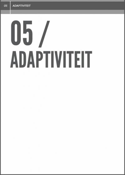 adaptiviteit